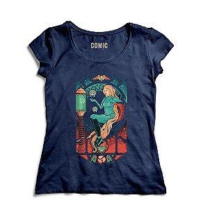 Camiseta Feminina Metroid Aran Nouveau