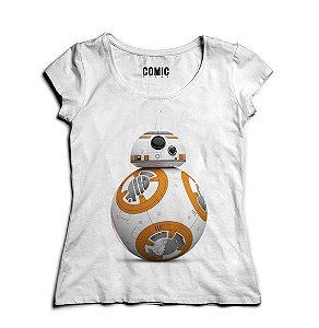 Camiseta Feminina Star Wars - BB8