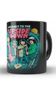 Caneca Stranger Things - Upside Down - Nerd e Geek - Presentes Criativos