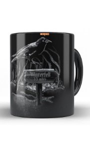 Caneca Game of Thones Winterfell 1/3 - Nerd e Geek - Presentes Criativos