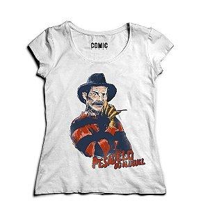 Camiseta Feminina seu Madruga Pesadelo do Aluguel - Branco - Nerd e Geek - Presentes Criativos