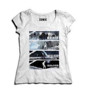 Camiseta Feminina Walker - Nerd e Geek - Presentes Criativos