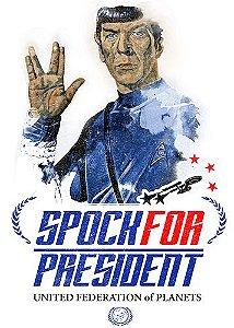 Camiseta Spock For President