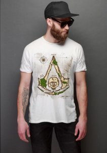 Camiseta Masculina  Assassin Creed - Nerd e Geek - Presentes Criativos