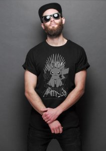 Camiseta Masculina  Pokemon Thrones - Nerd e Geek - Presentes Criativos