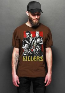 Camiseta Masculina  Killers - Nerd e Geek - Presentes Criativos