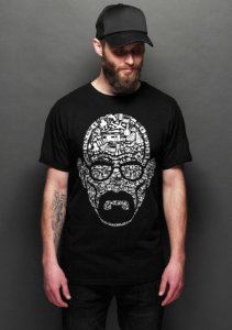 Camiseta Masculina  Breaking Bad - Walter White - Nerd e Geek - Presentes Criativos