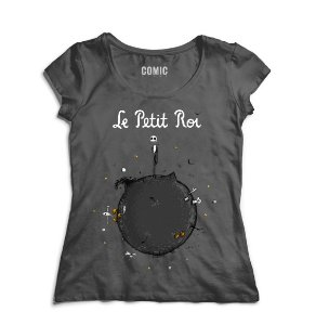 Camiseta Feminina Skullface - Le Petit Roi