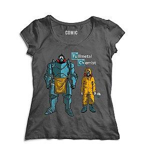 Camiseta Feminina Samus Aran - Nerd e Geek - Presentes Criativos