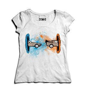 Camiseta Feminina De volta Para Futuro - Filme - Nerd e Geek - Presentes Criativos