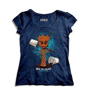 Camiseta Feminina Guardiões da Galáxia