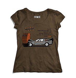 Camiseta Feminina De volta para o Futuro 5 - Filme - Nerd e Geek - Presentes Criativos