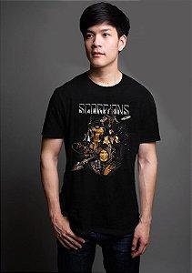 Camiseta Masculina  Scorpions Game - Nerd e Geek - Presentes Criativos