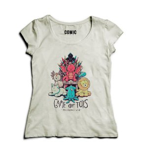 Camiseta Feminina Game of Toys - Nerd e Geek - Presentes Criativos