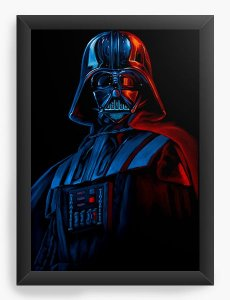 Quadro Decorativo Star Wars - Darth Vader