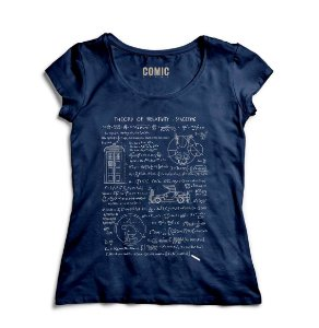 Camiseta Feminina Relative Space - Nerd e Geek - Presentes Criativos