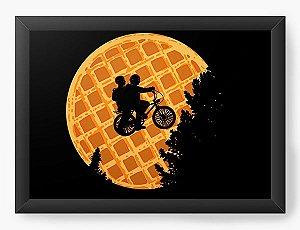 Quadro Decorativo Stranger Things - Eleven - Nerd e Geek - Presentes Criativos