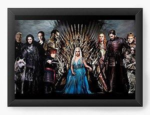 Quadro Decorativo Game of Thrones