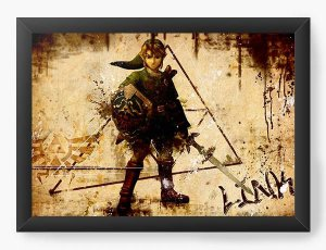 Quadro Decorativo The Legend of Zelda