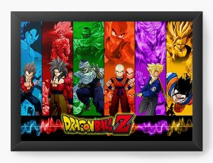 Quadro Decorativo Dragon Ball Z - Serie - Nerd e Geek - Presentes Criativos