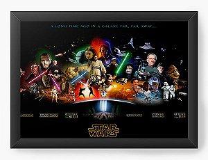 Quadro Decorativo Star Wars - Space