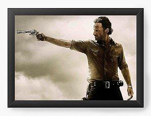 Quadro Decorativo The Walking Dead - Rick