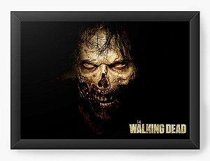 Quadro Decorativo The Walking Dead - Zombie - Nerd e Geek - Presentes Criativos