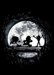 Camiseta Sonic, Mario e Crash Bandicoot - Hakuna matata