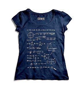 Camiseta Feminina Formula - Nerd e Geek - Presentes Criativos
