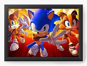 Quadro Decorativo The Sonic
