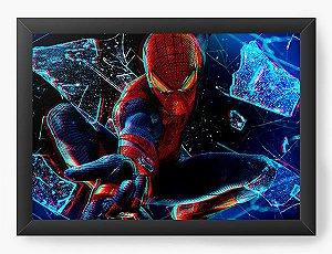 Quadro Decorativo Homem Aranha efeito 3D