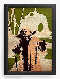 Quadro Decorativo Star Wars - Yoda