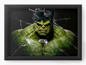 Quadro Decorativo Hulk Herói