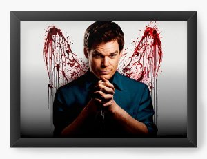 Quadro Decorativo Dexter - Serie - Nerd e Geek - Presentes Criativos