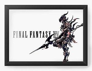 Quadro Decorativo Final Fantasy XVI - Nerd e Geek - Presentes Criativos