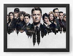 Quadro Decorativo Gotham - Serie