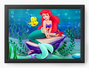 Quadro Decorativo Ariel e Linguado