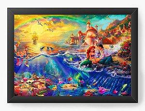 Quadro Decorativo Sereia Ariel