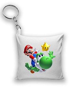 Chaveiro Super Mario e Yoshi - Nerd e Geek - Presentes Criativos