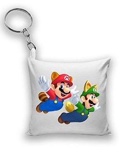 Chaveiro Super Mario e Luigi - Nerd e Geek - Presentes Criativos