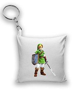 Chaveiro The Legend of Zelda - Link - Nerd e Geek - Presentes Criativos