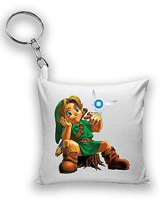 Chaveiro The Legend of Zelda - Link Game - Nerd e Geek - Presentes Criativos