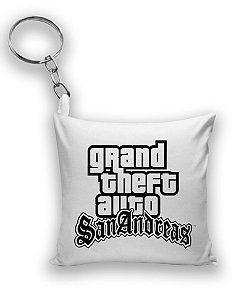 Chaveiro GTA - Grand Theft Auto - Nerd e Geek - Presentes Criativos