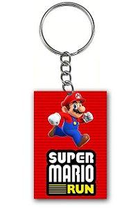 Chaveiro Super Mario Run - Nerd e Geek - Presentes Criativos