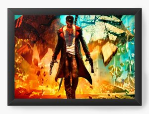 Quadro Decorativo Dante - Nerd e Geek - Presentes Criativos
