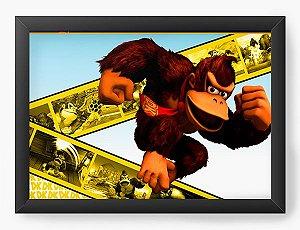 Quadro Decorativo Donkey Kong Movie