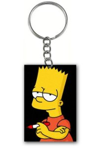 Chaveiro Bart Simpson - Nerd e Geek - Presentes Criativos