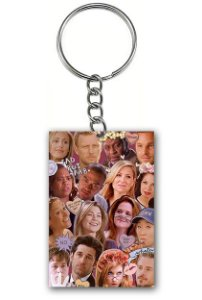 Chaveiro Grey's Anatomy - Nerd e Geek - Presentes Criativos