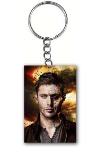 Chaveiro Supernatural - Dean - Nerd e Geek - Presentes Criativos