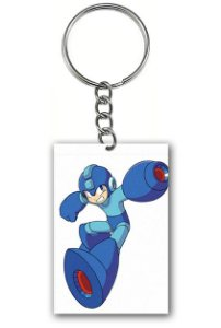 Chaveiro Mega Men - Nerd e Geek - Presentes Criativos